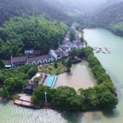 富春江╳富春俱舍:十年築一座島,完美復刻富春山居圖